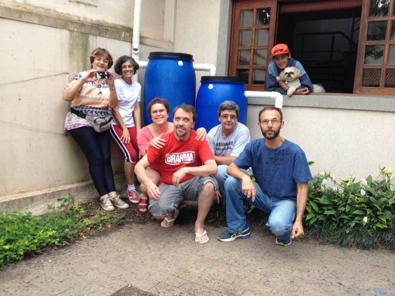 Raccolta acqua comunità Brasilândia
