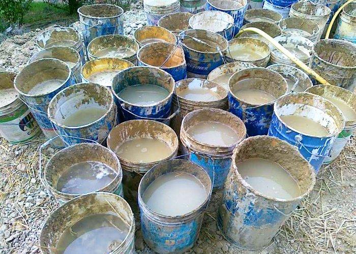 acqua miscela cob permacultura