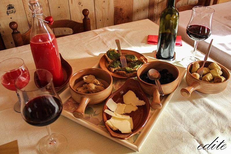 cena carciofi