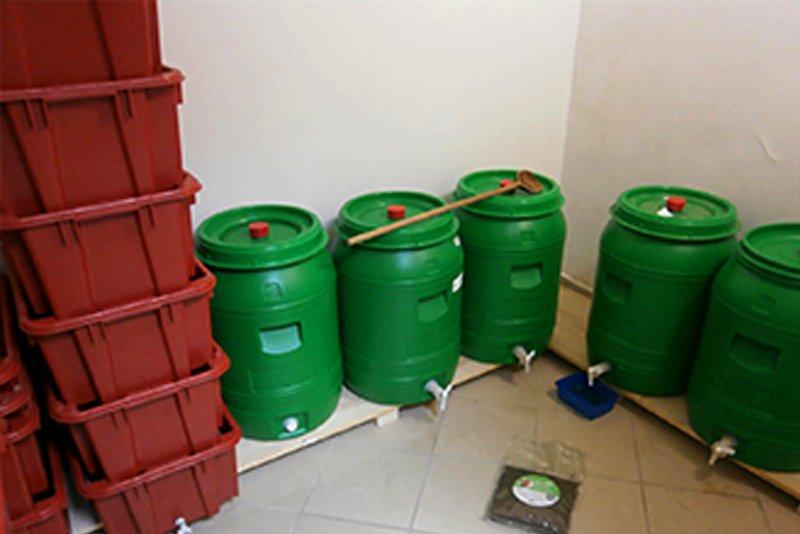 compostaggio permacultura bambini slovenia