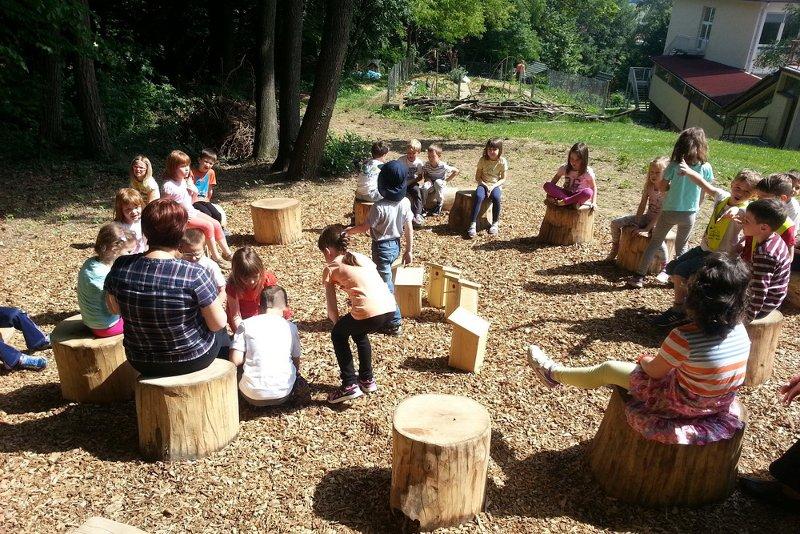 permacultura bambini slovenia classe outdoor